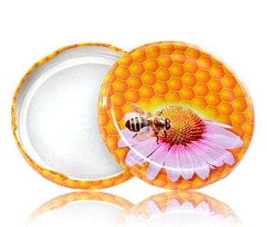 Туист оф капачка с пчелни мотиви